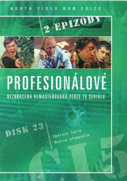 Profesionálové - DVD 23 (2 díly) - nezkrácená remasterovaná verze (papírový obal)