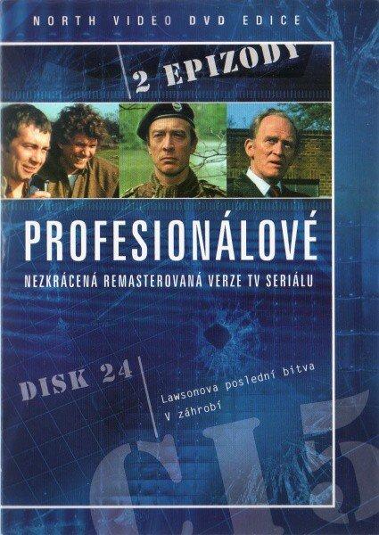Profesionálové - DVD 24 (2 díly) - nezkrácená remasterovaná verze (papírový obal)