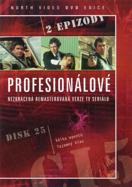 Profesionálové - DVD 25 (2 díly) - nezkrácená remasterovaná verze (papírový obal)