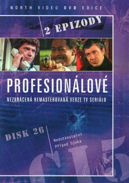 Profesionálové - DVD 26 (2 díly) - nezkrácená remasterovaná verze (papírový obal)