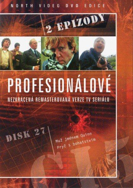 Profesionálové - DVD 27 (2 díly) - nezkrácená remasterovaná verze (papírový obal)