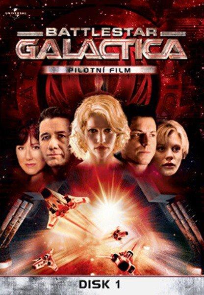Battlestar Galactica (DVD) - 1. sezóna - pilotní film (papírový obal)