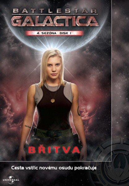 Battlestar Galactica (DVD) - 4. sezóna DISK 1 - pilotní film (papírový obal)