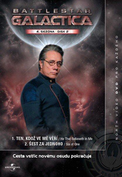 Battlestar Galactica (DVD) - 4. sezóna DISK 2 (papírový obal)
