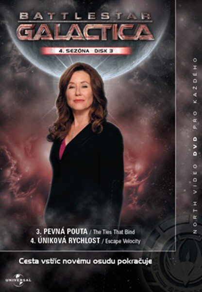 Battlestar Galactica (DVD) - 4. sezóna DISK 3 (papírový obal)