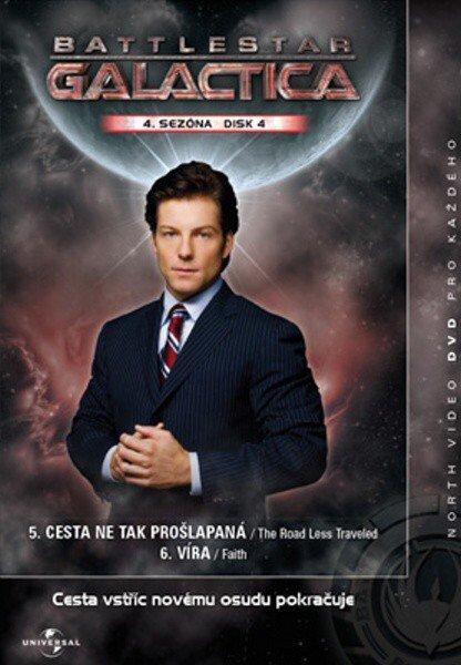 Battlestar Galactica (DVD) - 4. sezóna DISK 4 (papírový obal)