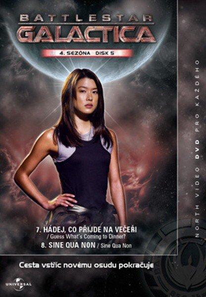 Battlestar Galactica (DVD) - 4. sezóna DISK 5 (papírový obal)