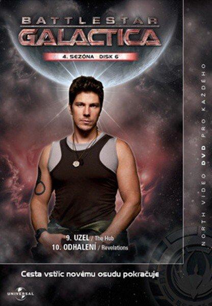 Battlestar Galactica (DVD) - 4. sezóna DISK 6 (papírový obal)