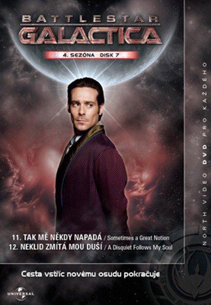 Battlestar Galactica (DVD) - 4. sezóna DISK 7 (papírový obal)