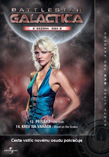 Battlestar Galactica (DVD) - 4. sezóna DISK 8 (papírový obal)