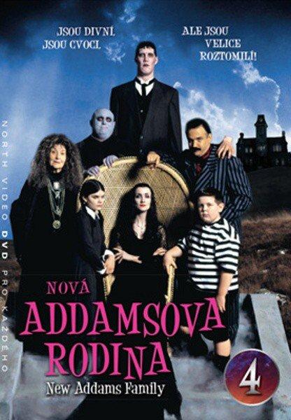 Nová Addamsova rodina (DVD) DISK 04 (papírový obal)