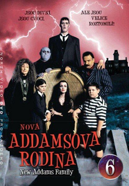 Nová Addamsova rodina (DVD) DISK 06 (papírový obal)