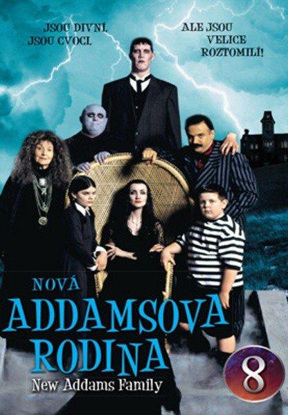 Nová Addamsova rodina (DVD) DISK 08 (papírový obal)