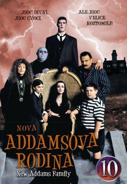 Nová Addamsova rodina (DVD) DISK 10 (papírový obal)