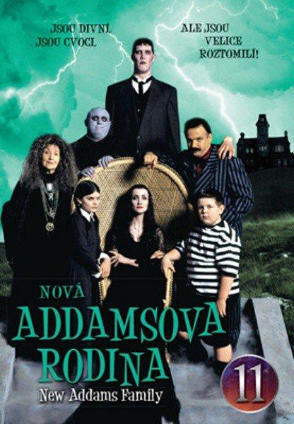 Nová Addamsova rodina (DVD) DISK 11 (papírový obal)