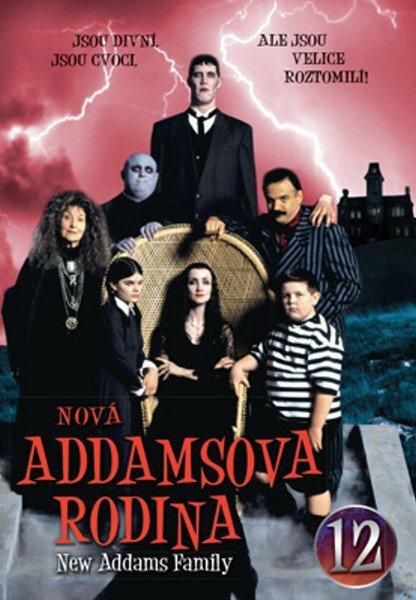 Nová Addamsova rodina (DVD) DISK 12 (papírový obal)