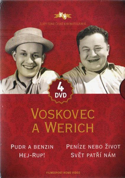 Voskovec a Werich - kolekce - 4xDVD