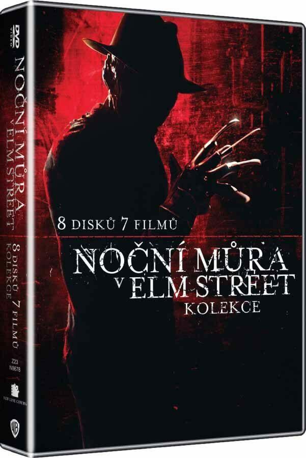Noční můra v Elm Street 1+2+3+4+5+6+7 + DVD BONUS - 8xDVD