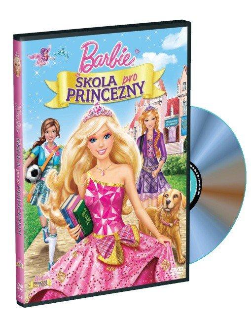 Barbie a Škola pro princezny (DVD)