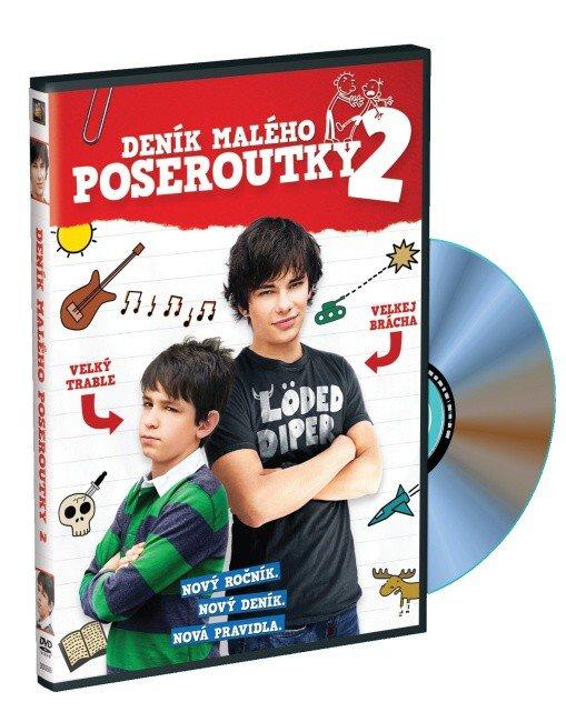 Deník malého poseroutky 2 (DVD)