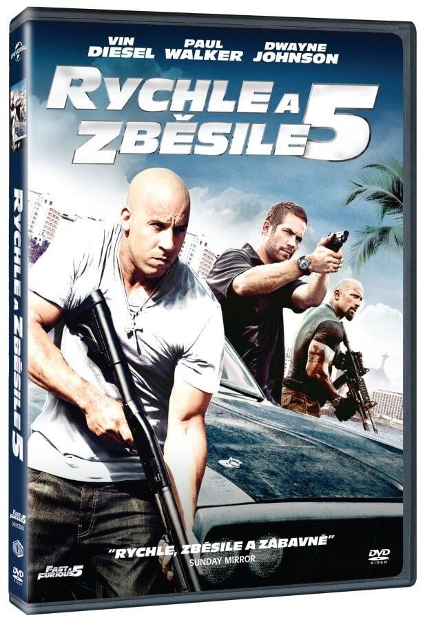 Rychle a zběsile 5 (DVD)