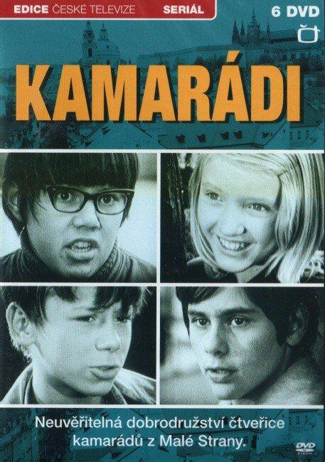 Kamarádi - 6xDVD (13 dílů)