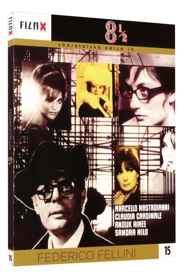 8 1/2 (Marcello Mastroianni) (DVD) - edice Film X