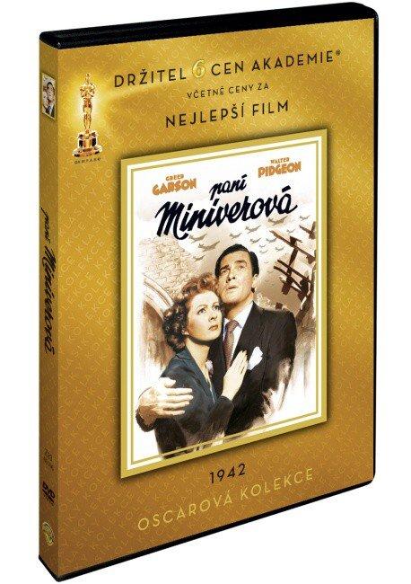 Paní Miniverová (DVD) (pouze s českými titulky) - oscarová edice
