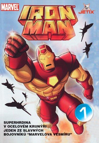 Iron Man 01 (animovaný) (DVD) (papírový obal)
