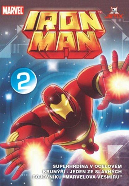 Iron Man 02 (animovaný) (DVD) (papírový obal)