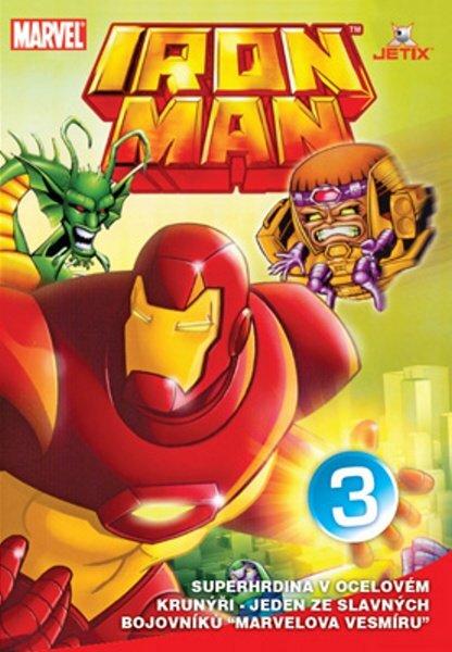 Iron Man 03 (animovaný) (DVD) (papírový obal)