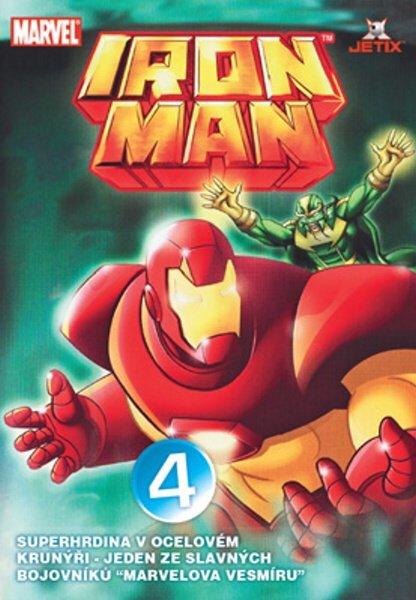 Iron Man 04 (animovaný) (DVD) (papírový obal)