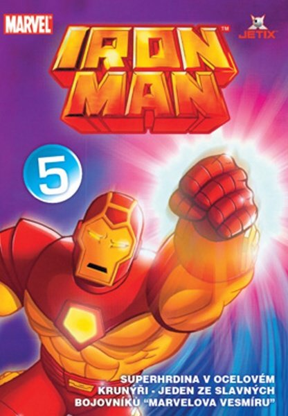 Iron Man 05 (animovaný) (DVD) (papírový obal)
