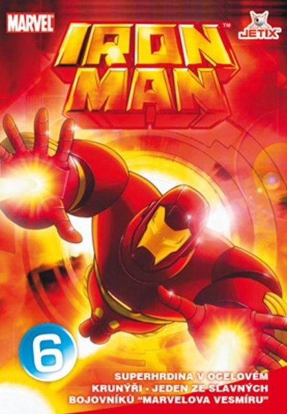 Iron Man 06 (animovaný) (DVD) (papírový obal)