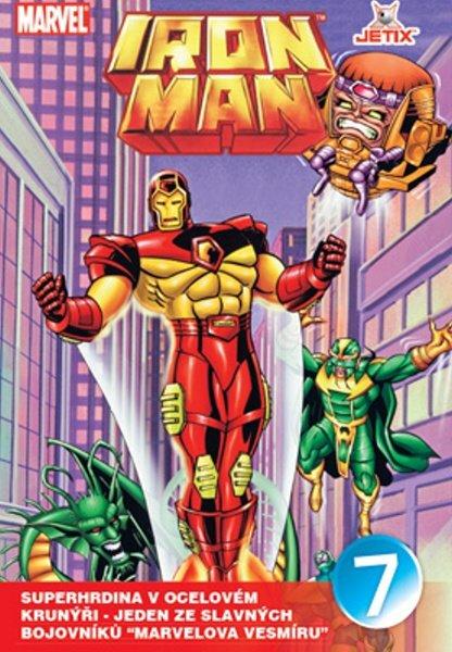 Iron Man 07 (animovaný) (DVD) (papírový obal)