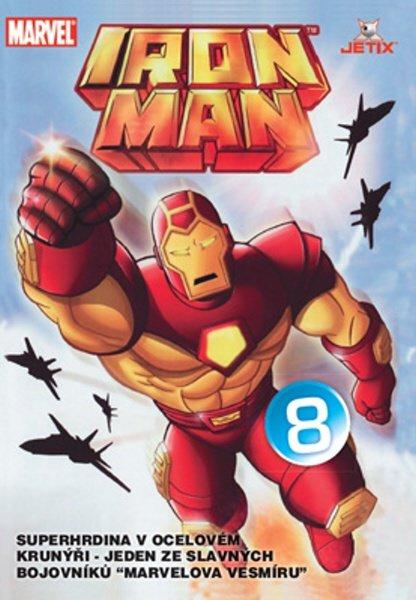 Iron Man 08 (animovaný) (DVD) (papírový obal)