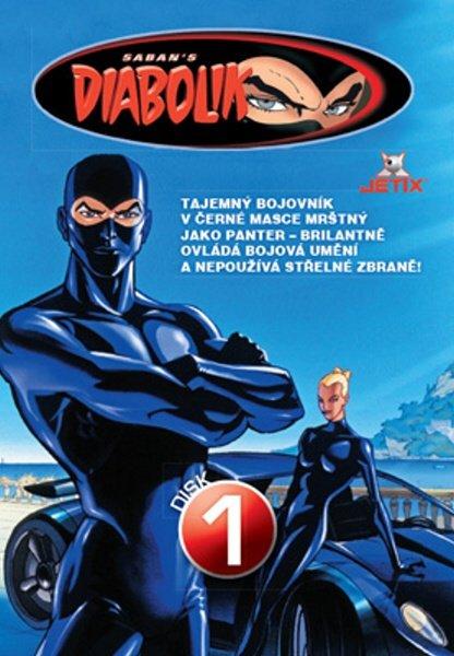 Diabolik 01 (DVD) (papírový obal)