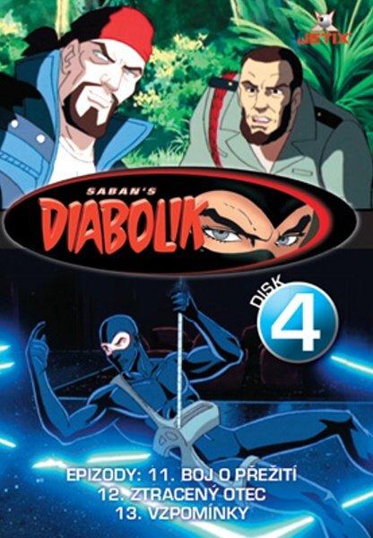 Diabolik 04 (DVD) (papírový obal)