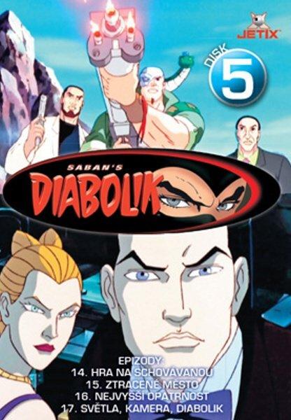 Diabolik 05 (DVD) (papírový obal)