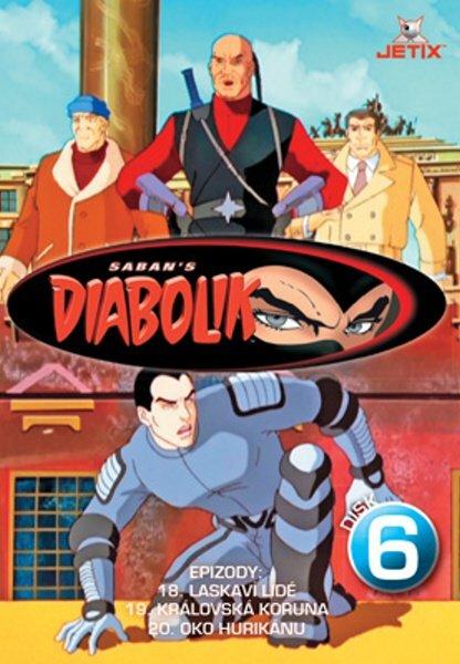 Diabolik 06 (DVD) (papírový obal)