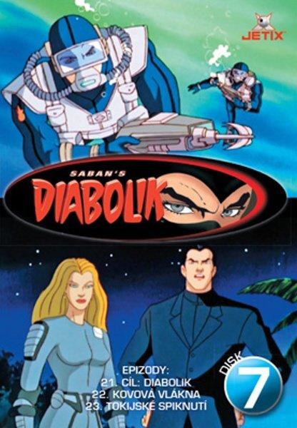 Diabolik 07 (DVD) (papírový obal)