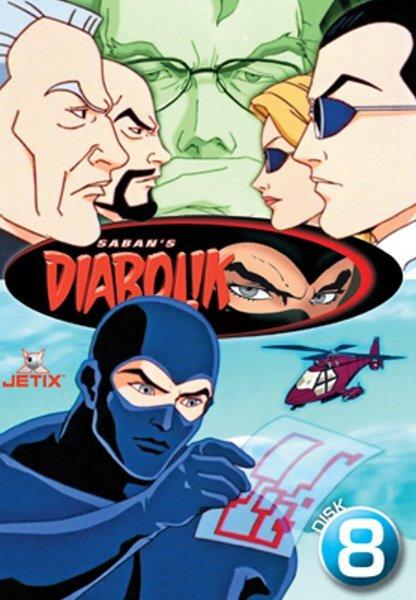 Diabolik 08 (DVD) (papírový obal)