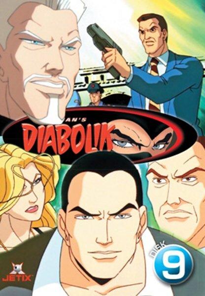 Diabolik 09 (DVD) (papírový obal)