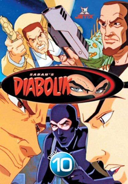 Diabolik 10 (DVD) (papírový obal)