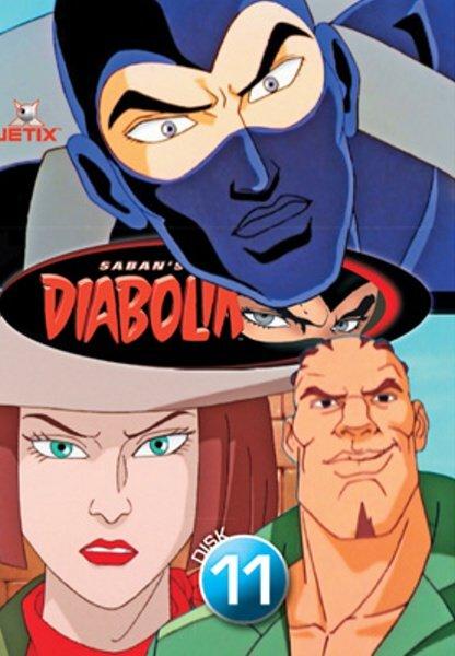 Diabolik 11 (DVD) (papírový obal)