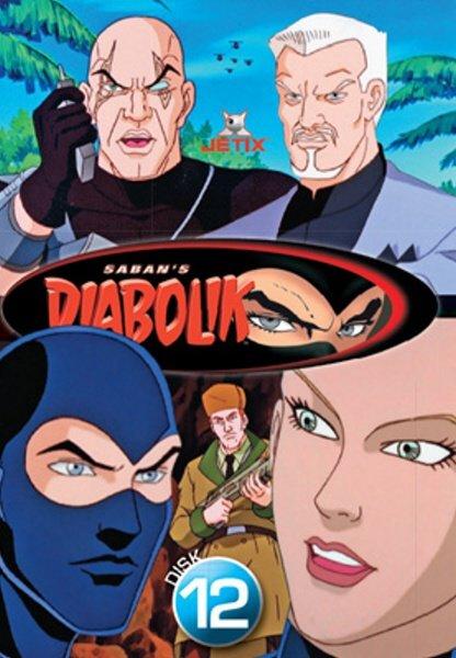 Diabolik 12 (DVD) (papírový obal)