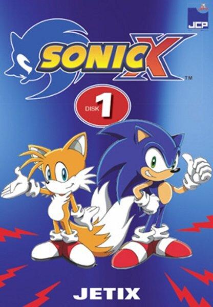 Sonic X 01 (DVD) (papírový obal)