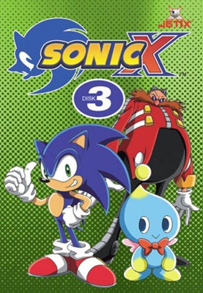 Sonic X 03 (DVD) (papírový obal)