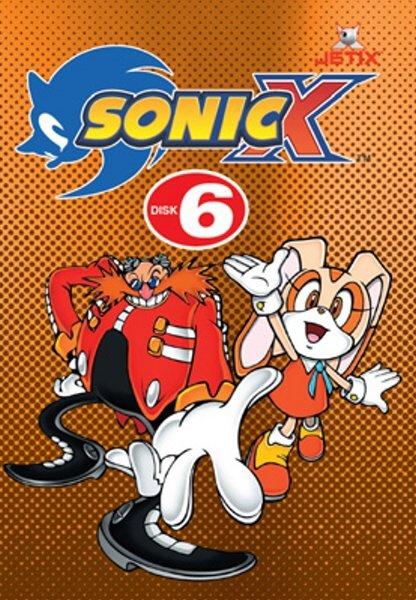 Sonic X 06 (DVD) (papírový obal)