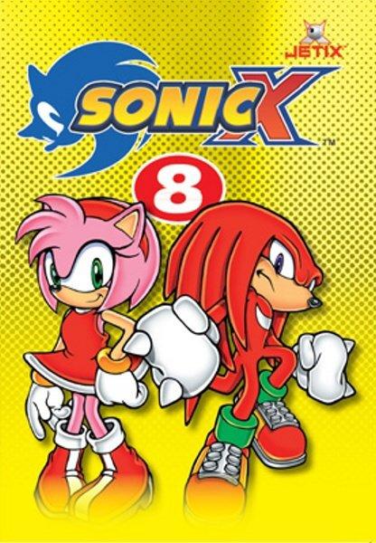Sonic X 08 (DVD) (papírový obal)